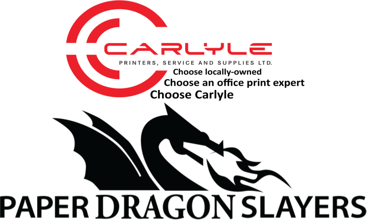 Carlyle Paper Dragon Slayers River City Boat Festival logo