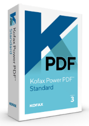 Kofax Power PDF software box