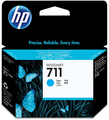 HP 711 (CZ130A) Cyan Original Ink Cartridge (29 ml)