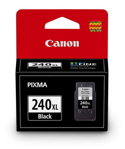 Canon, Inc (PG-240XL) PIXMA MG2120 MG2220 MG3120 MG3220 MG3520 MG4120 MG4220 MX372 MX392 MX432 MX452 MX472 MX512 MX522 MX532 High Yield Black Ink Cartridge (300 Yield)