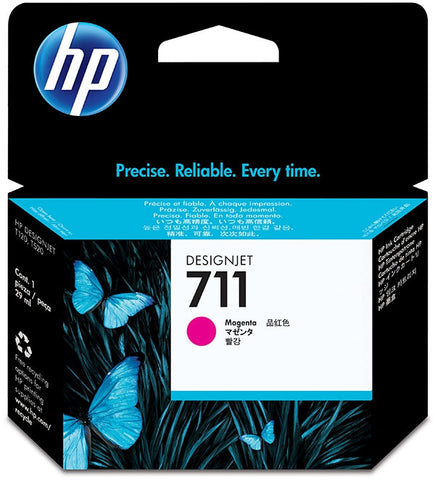 HP 711 (CZ131A) Magenta Original Ink Cartridge (29 ml)