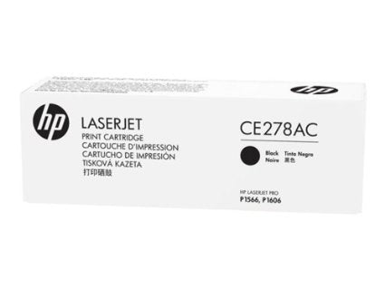 HP 78A (CE278AC) LaserJet Pro P1606 M1536 MFP Original LaserJet Contract Toner Cartridge (2100 Yield)
