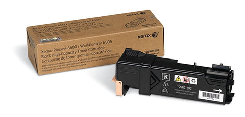 Xerox Corporation Phaser 6500 WorkCentre 6505 High Capacity Black Toner Cartridge (3000 Yield)