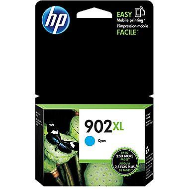 HP 902XL (T6M02AN) Cyan Original Ink Cartridge (825 Yield)