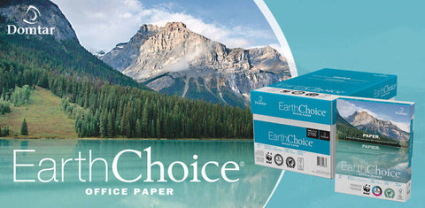 Earthchoice 8.5 X 11, 20LB, 92 Bright, White, 5000 Sheets/Case, 30% PCW Multipurpose