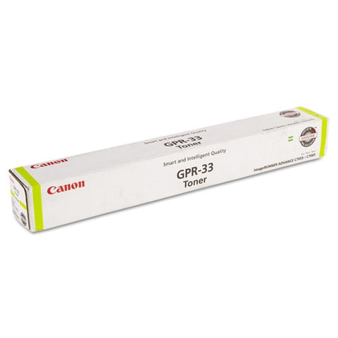Canon, Inc (GPR-33) imageRUNNER C7055 C7065 C7260 C7270 Yellow Toner Cartridge (52000 Yield)