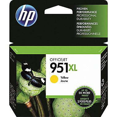 HP 951XL (CN048AN) High Yield Yellow Original Ink Cartridge (1500 Yield)