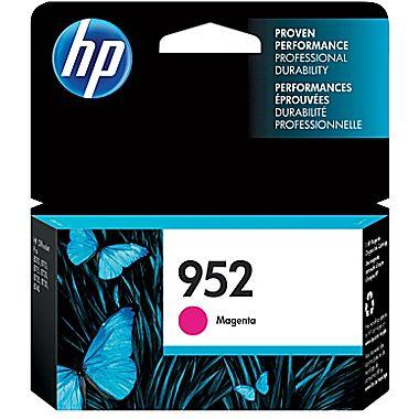 HP 952 (L0S52AN) Magenta Original Ink Cartridge (700 Yield)