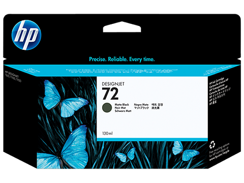 HP 72 (C9403A) Matte Black Original Ink Cartridge (130 ml)
