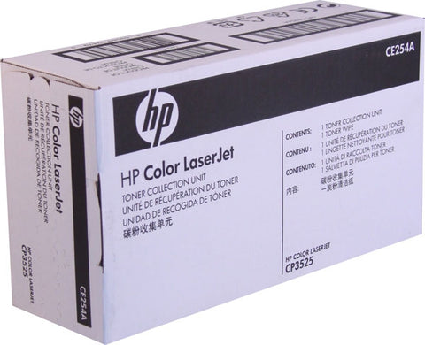 HP (CE254A) Color LaserJet CM3530 MFP CP3525 Ent 500 Color M551 M575 Pro 500 M570 Toner Collection Unit (36000 Yield)
