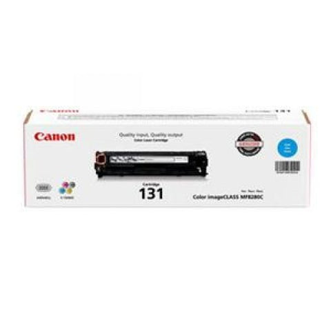 Canon, Inc CARTRIDGE 131 CYAN TONER - FOR IMAGECLASS MF624CW, MF628CW, MF8280CW
