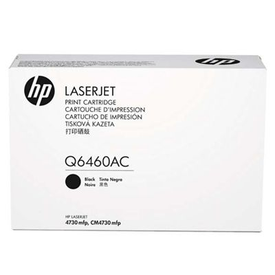 HP Q6460AC Monochrome 12,000 Yield Contracted Toner