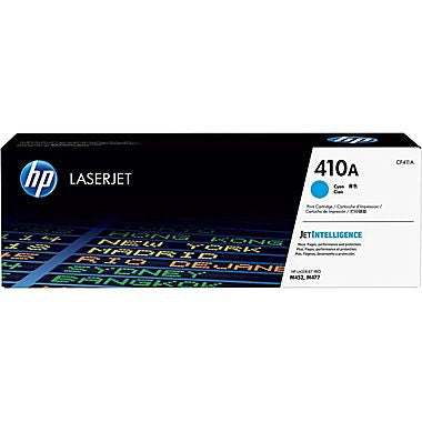 HP 410A (CF411A) Color LaserJet Pro M452 MFP M477 Cyan Original LaserJet Toner Cartridge (2300 Yield)
