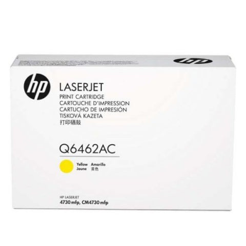HP Q6462AC Yellow 12,000 Yield Contracted Toner