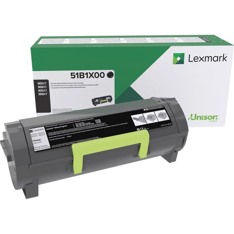 Lexmark International, Inc MS517 MS617 MX517 MX617 Extra High Yield Return Program Toner Cartridge (20000 Yield)