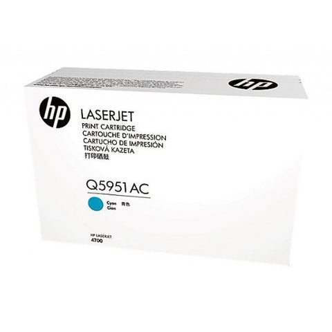 HP Q5951AC Cyan 10,000 Yield Contracted Toner