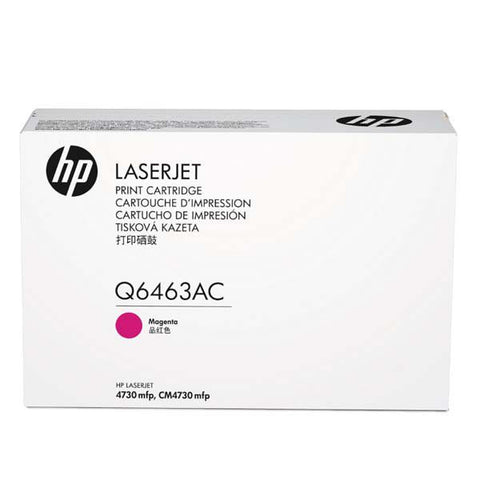 HP Q6463AC Magenta 12,000 Yield Contracted Toner