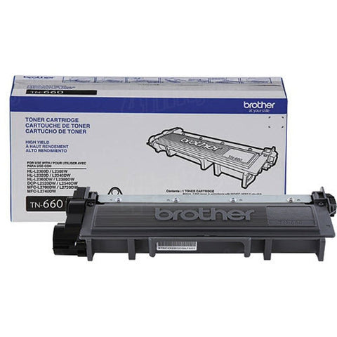 Brother Industries, Ltd HL-L2300D L2320D L2340DW L2380DW DCP-L2520DW L2540DW MFC-L2700DW L2720DW L2740DW High Yield Toner Cartridge (2600 Yield)