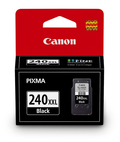 Canon, Inc (PG-240XXL) PIXMA MG2120 MG2220 MG3120 MG3220 MG3520 MG4120 MG4220 MX372 MX392 MX432 MX452 MX472 MX512 MX522 MX532 Extra High Yield Black Ink Cartridge (600 Yield)
