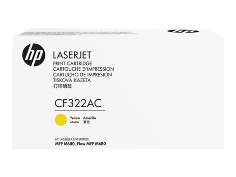 HP CF322AC Yellow 16,500 Yield Contracted Toner