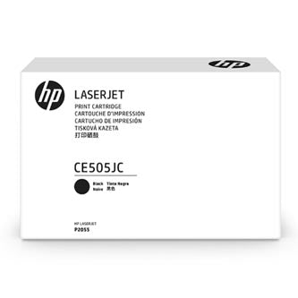 HP CE505JC Monochrome 8,000 Yield Contracted Toner