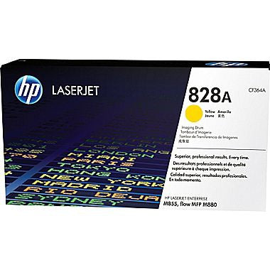 HP 828A (CF364A) Color LaserJet Enterprise M855 Enterprise flow M880 MFP Yellow Original LaserJet Image Drum (30000 Yield)