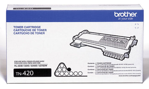 Brother Industries, Ltd HL-2230 2240D 2270DW 2280 MFC-7240 7360 7460 7860 DCP-7060 7065 IntelliFax 2840 2940 Toner Cartridge (1200 Yield)