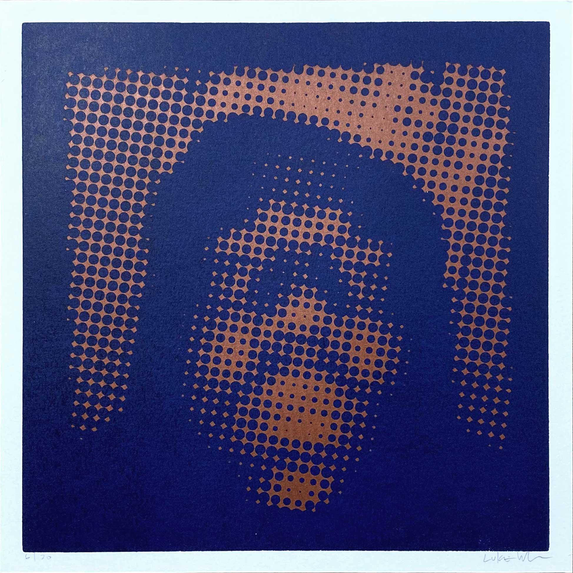 Notorious / Halftone 12x12 / Copper