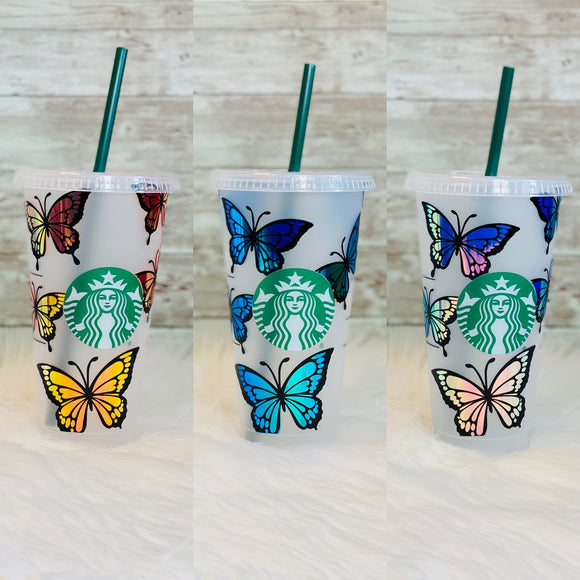 Personalized Starbucks Cold Cups