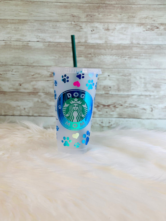 Personalized Dog Mom Starbucks Cold Cup