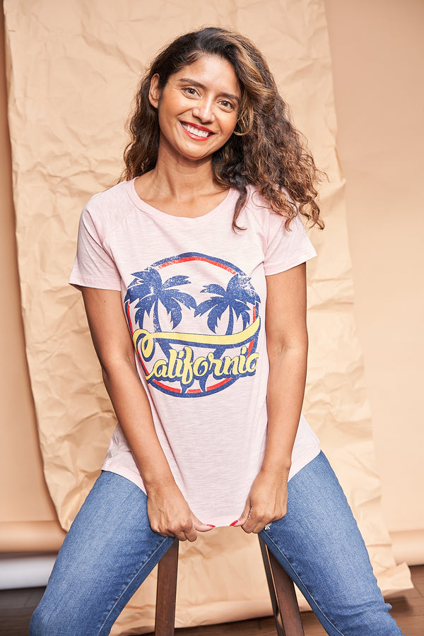 California Vintage Shirt available on top everyday wear online boutique, RefinedbyJM