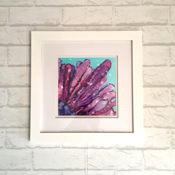 """Cathy's Sea Urchin"" - Framed Fine Art Print"