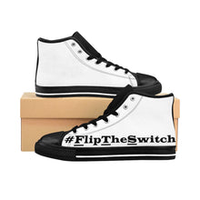 Load image into Gallery viewer, Men's #FlipTheSwitch High-top Sneakers