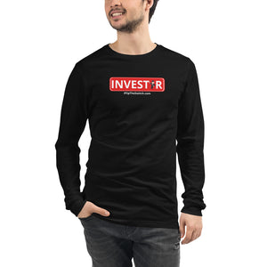 Investor: Mr. Monopoly - Unisex Long Sleeve Tee