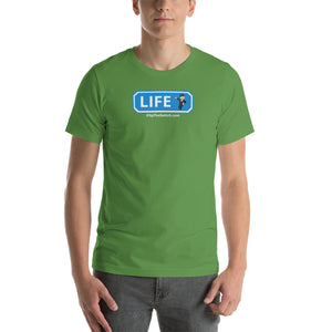 Ticket To Life: Mr. Monopoly Short-Sleeve Unisex T-Shirt