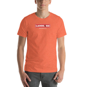 LANDLORD: Mr. Monopoly - Short-Sleeve Unisex T-Shirt