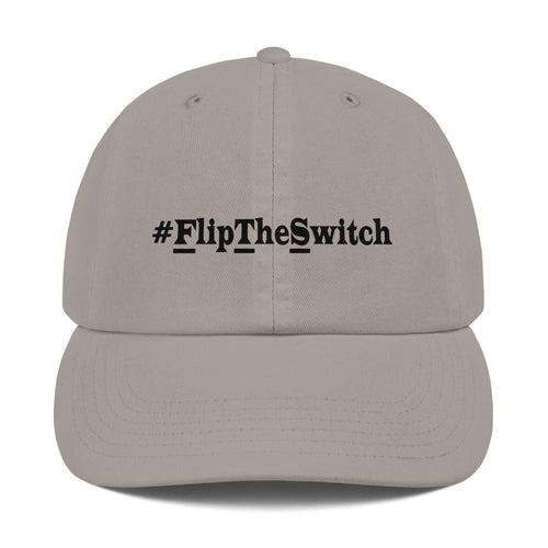 #FlipTheSwitch Champion Dad Cap