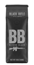 Load image into Gallery viewer, BRCC Beyond Black Coffee Blend - Ground 12 oz bag