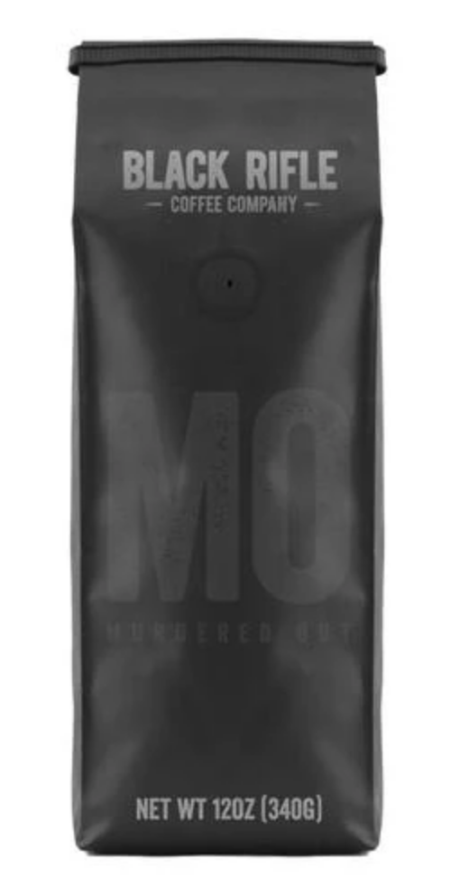 BRCC Murdered Out Coffee Blend - Ground 12 oz bag