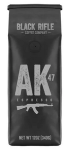 BRCC AK-47 Espresso Blend - Whole Bean 12 OZ Bag