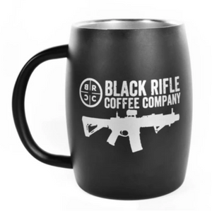 BRCC Stainless Steel Mug - Black Matte