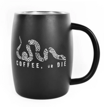 Load image into Gallery viewer, BRCC Stainless Steel Mug - Black Matte