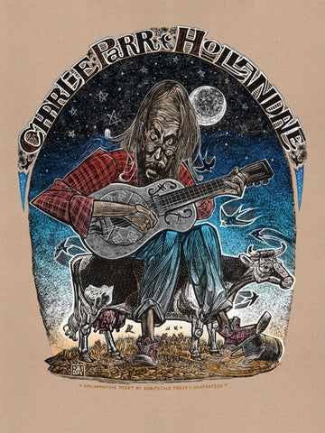"Charlie Parr ""Hollandale"" Five-color Poster"