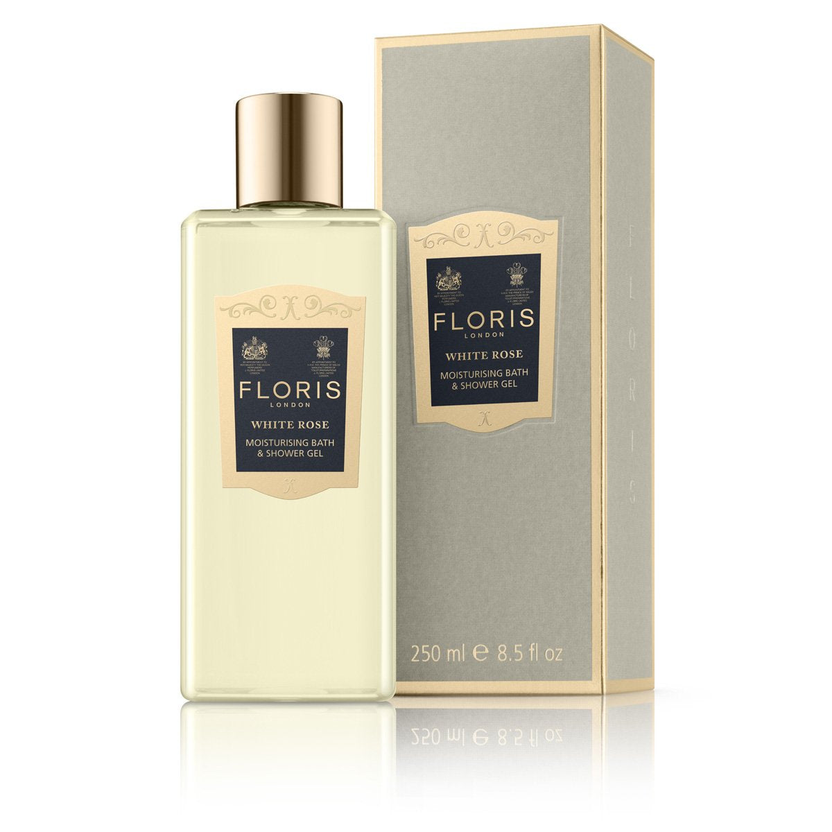 White Rose - Moisturising Bath & Shower Gel