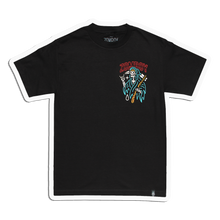 Load image into Gallery viewer, Zomboy - Reaper Boy - Black Tee