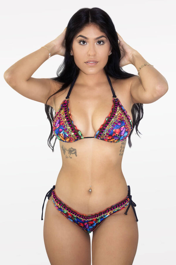 Sabor Tropical 2 Piece Bikini Beachwear - D'Luxe Chic