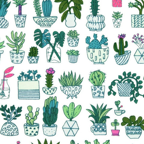 Cacti Fabric with neon