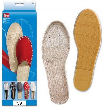 Make your own Espadrilles - Soles