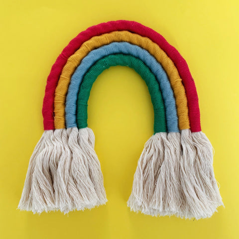 Make a Rope Rainbow Wall Hanging: Bundle