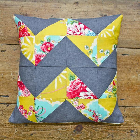 Patchwork Cushion Workshop (The Makery, Bath)